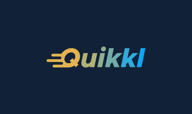 Quikkl - E-commerce startup name for sale