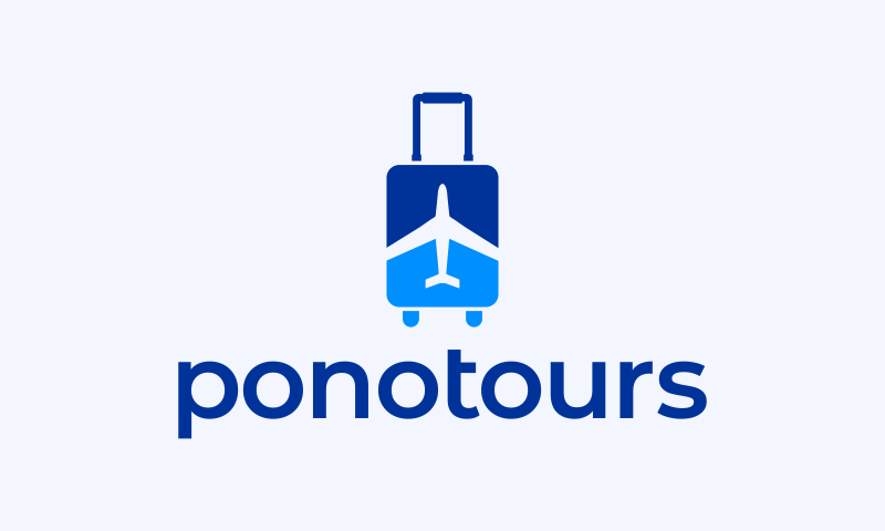 Ponotours - Travel domain name for sale