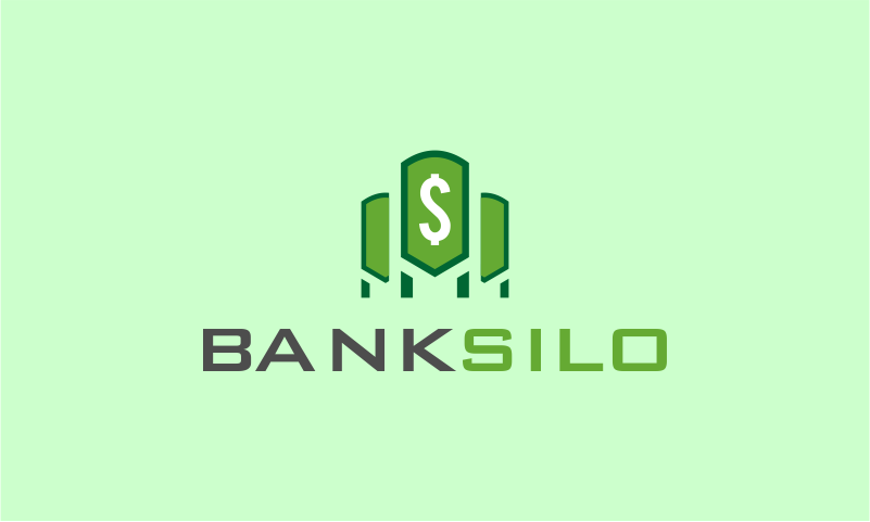 Banksilo - Banking startup name for sale
