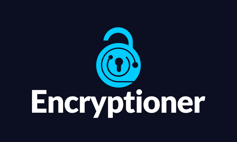 Encryptioner - Cryptocurrency brand name for sale