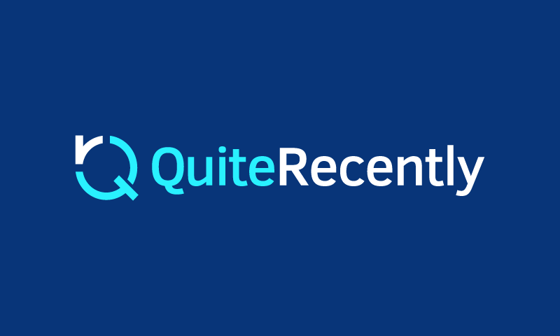 Quiterecently - Technology domain name for sale