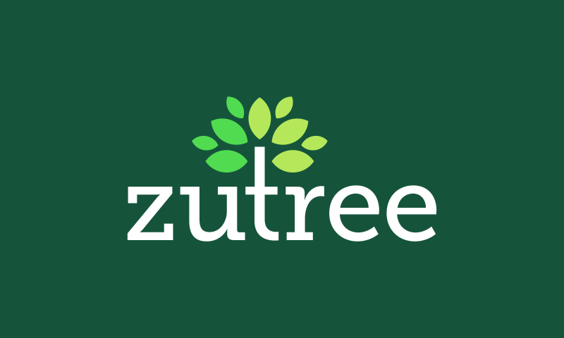 Zutree - Environmentally-friendly business name for sale