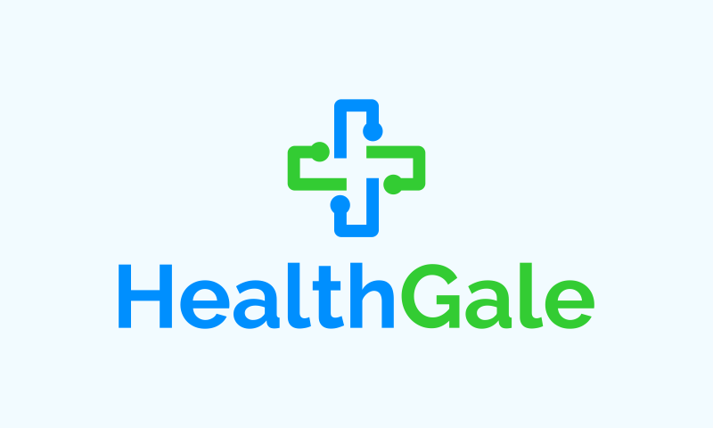 Healthgale - Wellness startup name for sale