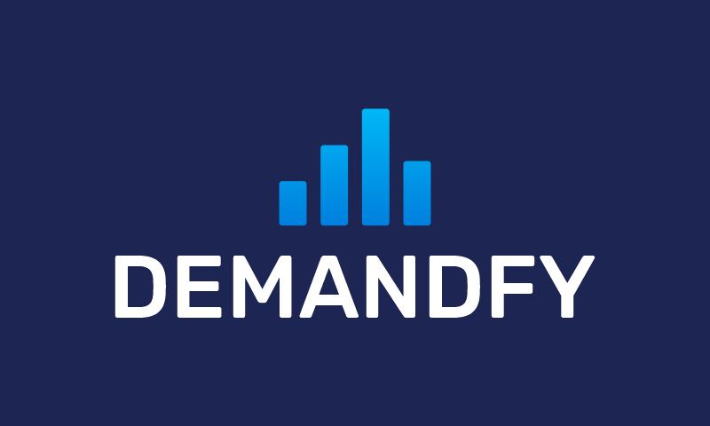 Demandfy - Marketing brand name for sale