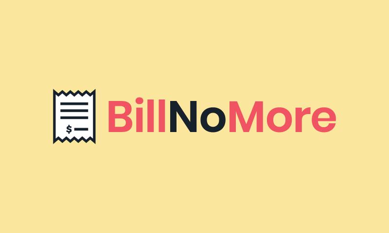 Billnomore - Accountancy company name for sale