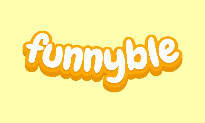 Funnyble - Media company name for sale