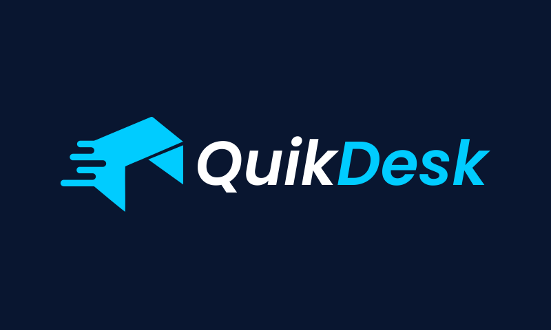 Quikdesk - Office supplies domain name for sale