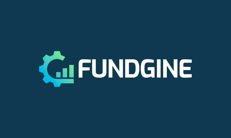 Fundgine - Fundraising company name for sale