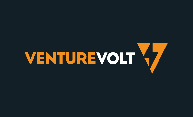 venturevolt logo - Catchy and electrifying brand name