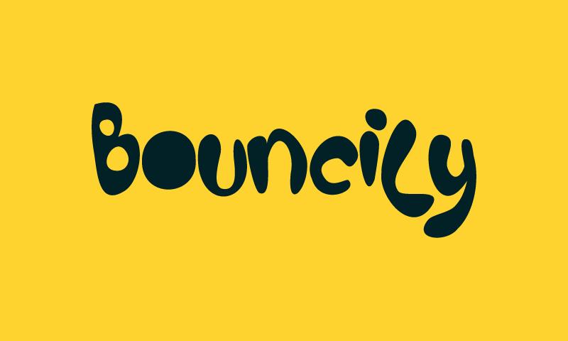 Bouncily