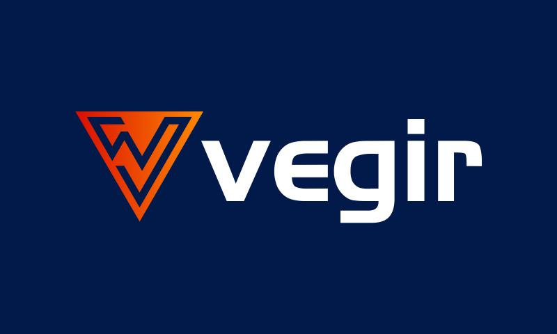 Vegir - E-commerce brand name for sale