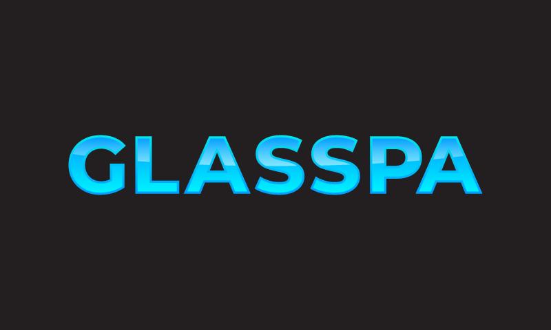 Glasspa - Opticians startup name for sale