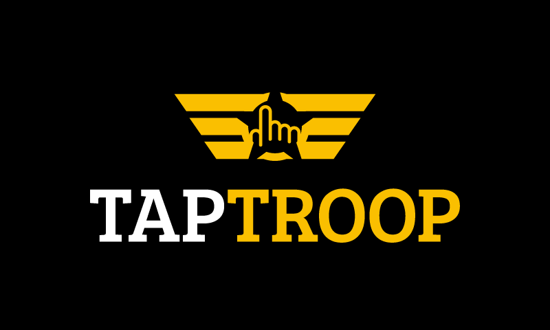 Taptroop - Technology startup name for sale