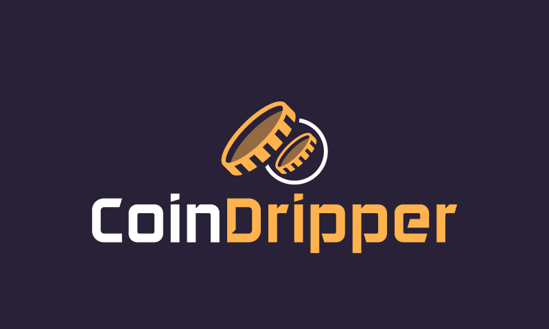 Coindripper - Cryptocurrency brand name for sale