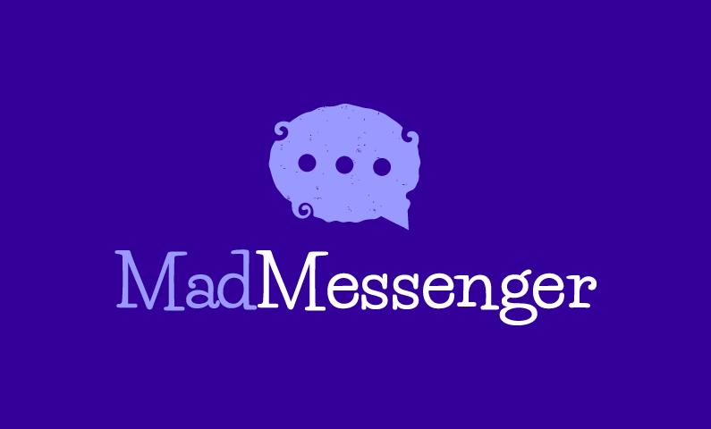 Madmessenger - Masculine business name for sale