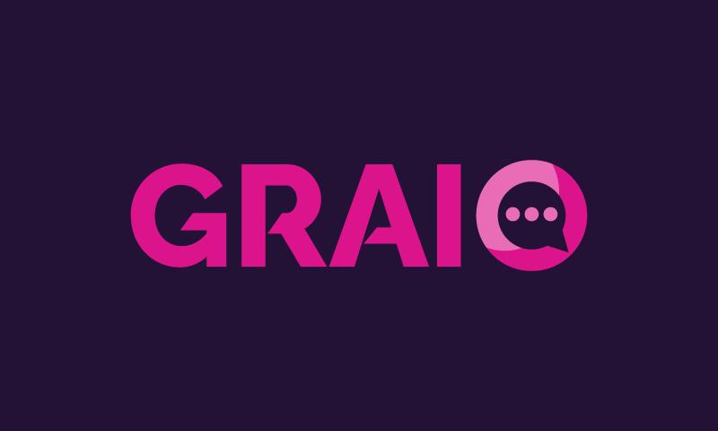 Graio - Audio brand name for sale