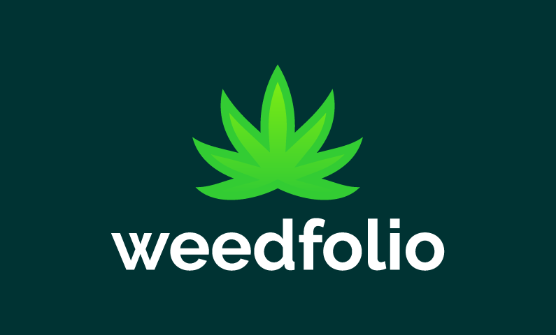 Weedfolio - Dispensary domain name for sale