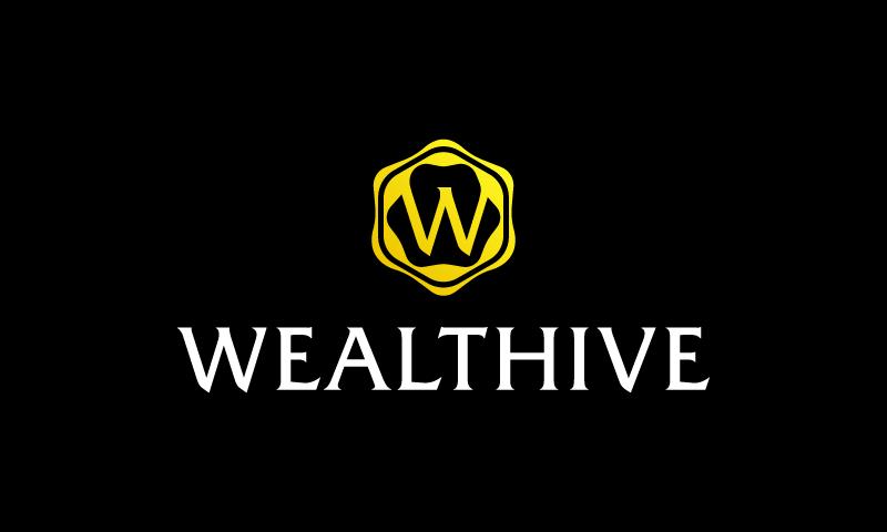 Wealthive - E-commerce domain name for sale