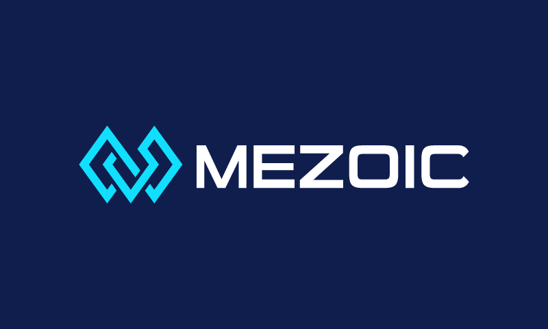 Mezoic - Technology business name for sale