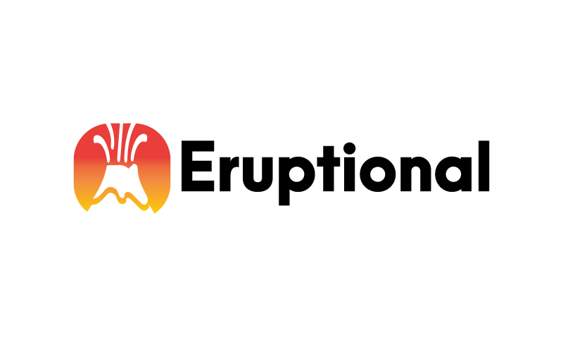 Eruptional - Modern company name for sale