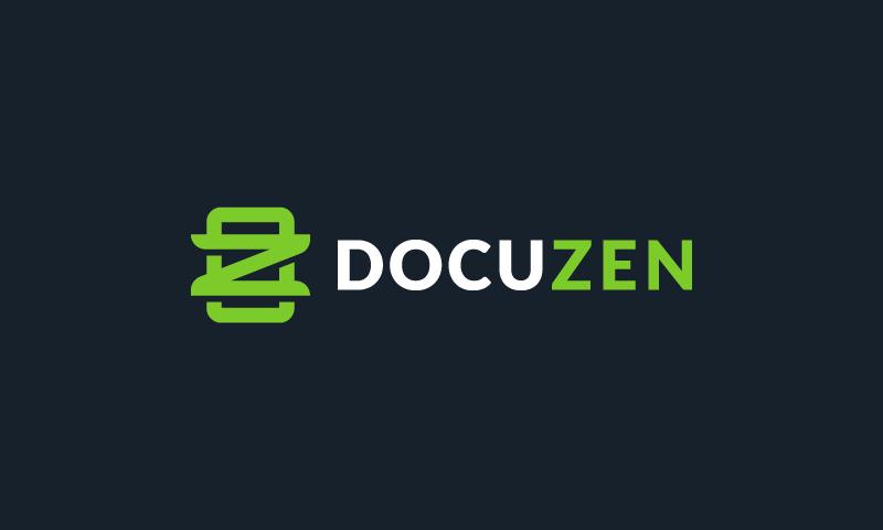 Docuzen - Business company name for sale
