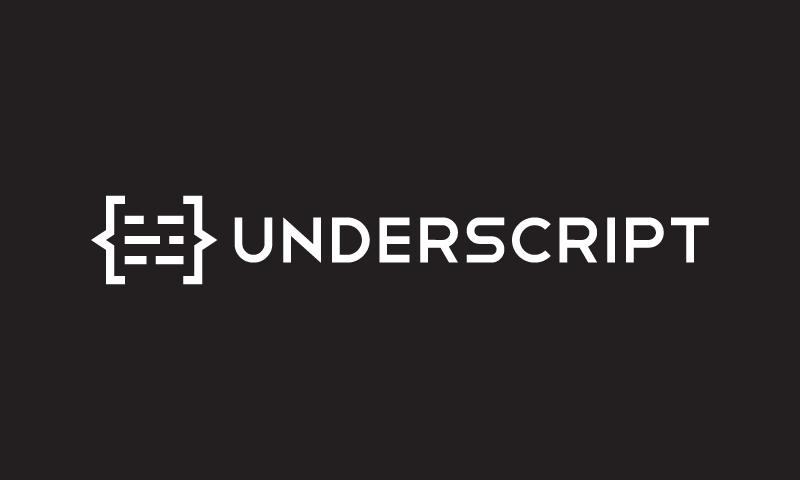 Underscript