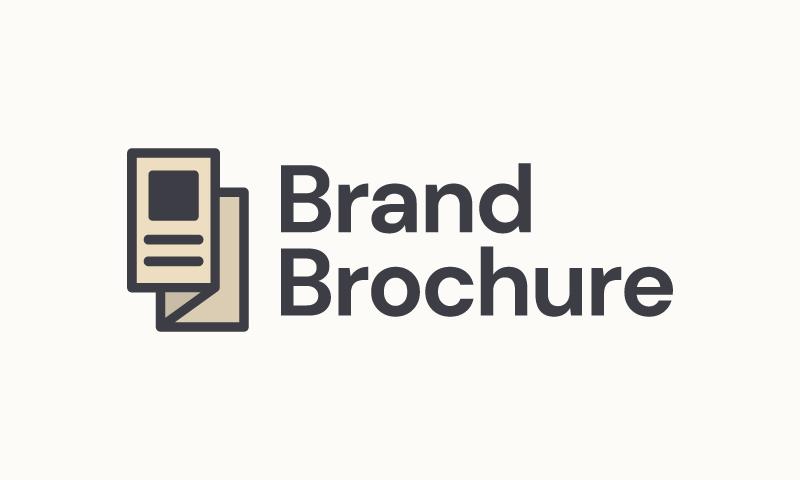 Brandbrochure - Marketing brand name for sale