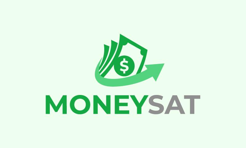 Moneysat - Finance business name for sale