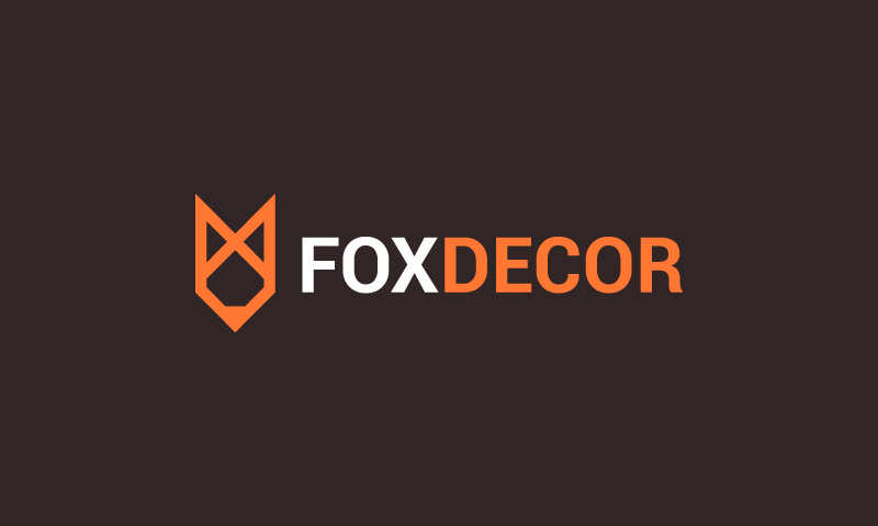 Foxdecor - Masculine brand name for sale