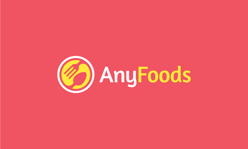 Anyfoods - Food and drink brand name for sale