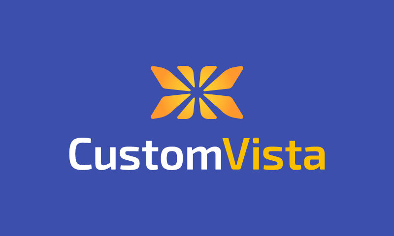 CustomVista logo