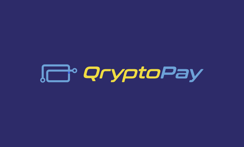 Qryptopay - Banking startup name for sale