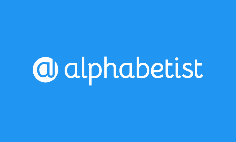 Alphabetist - Technology business name for sale