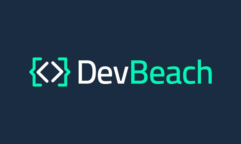 Devbeach - Programming startup name for sale