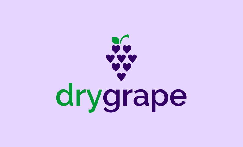 Drygrape - Drinks business name for sale