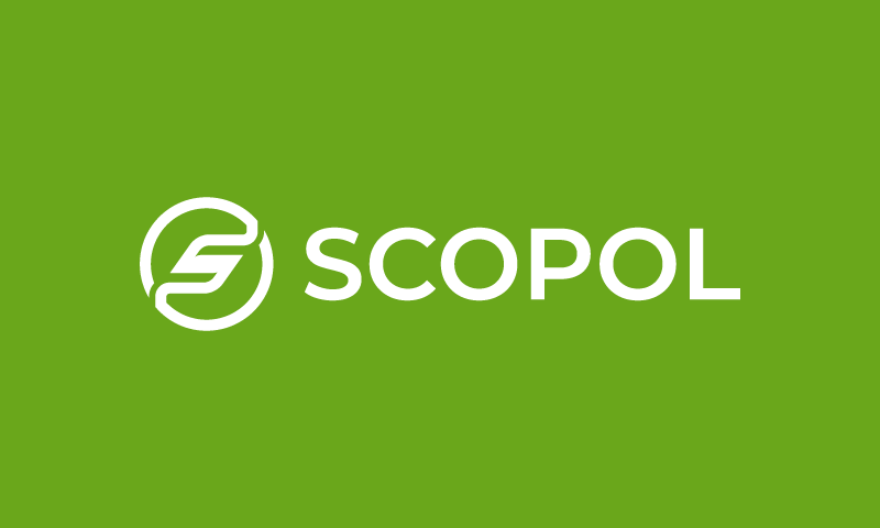 Scopol - E-commerce domain name for sale