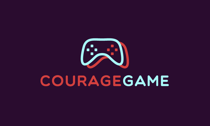 Couragegame - Video games startup name for sale