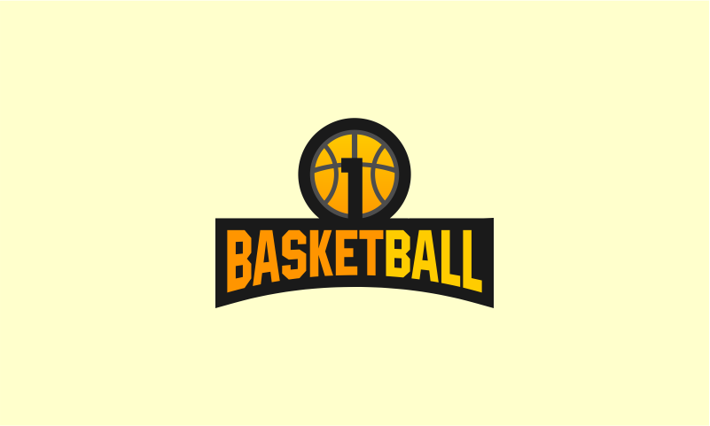 1basketball logo