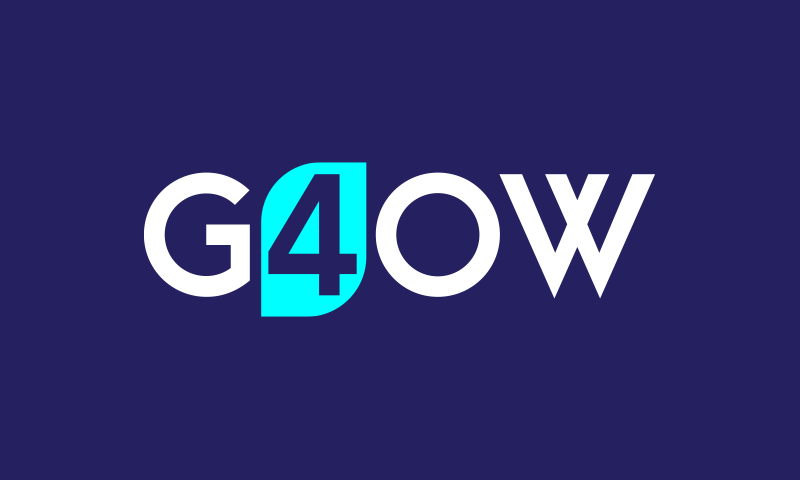 G4ow - Agriculture startup name for sale
