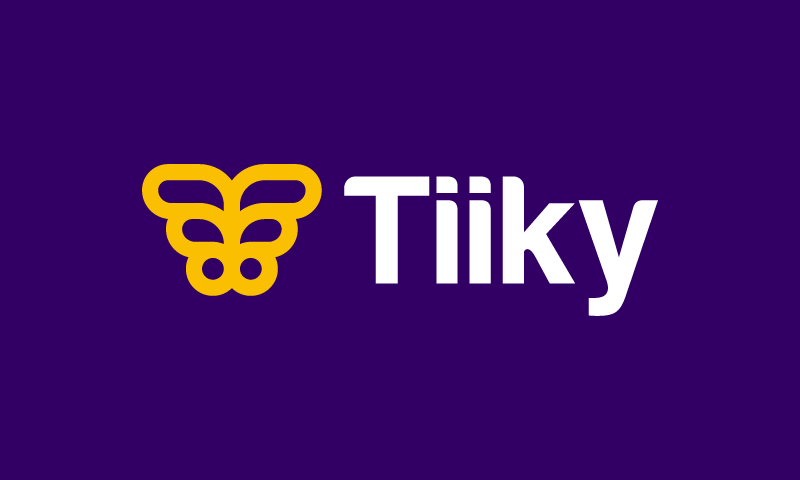 Tiiky - Brandable company name for sale