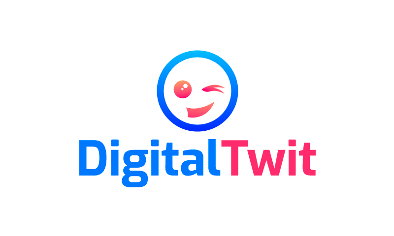 Digitaltwit - Contemporary business name for sale