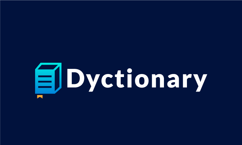 Dyctionary - Media product name for sale