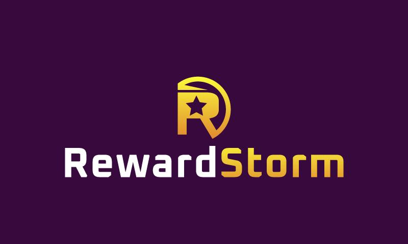 Rewardstorm - Playful brand name for sale