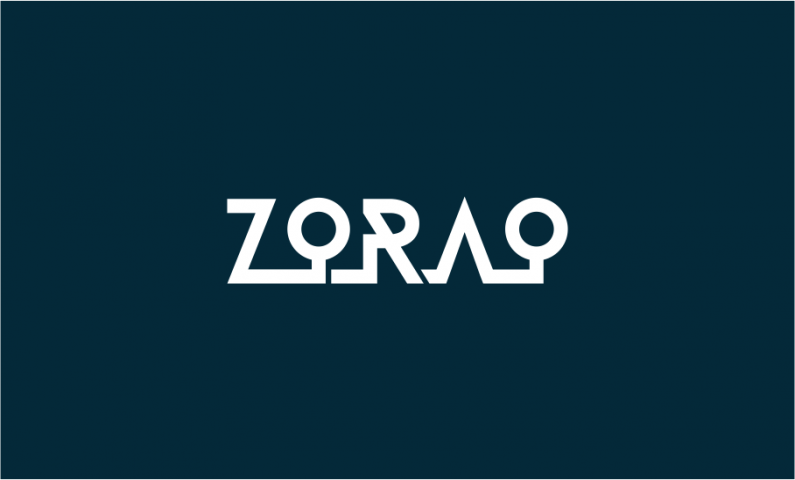 Zorao - Contemporary domain name for sale