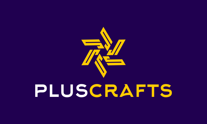 Pluscrafts - Crafts business name for sale