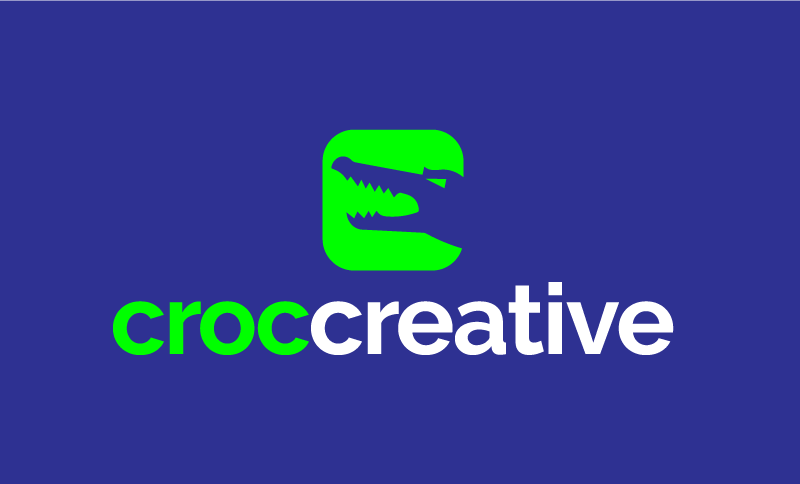 Croccreative - Design business name for sale