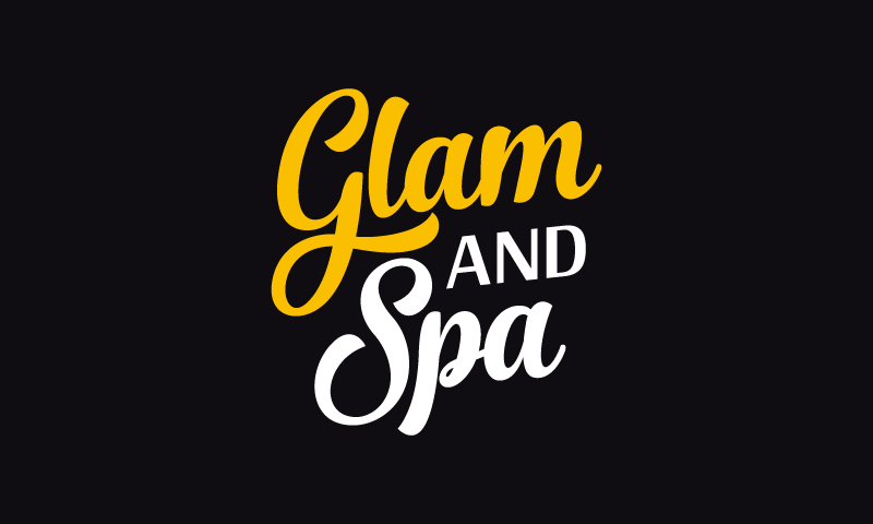Glamandspa - Beauty startup name for sale