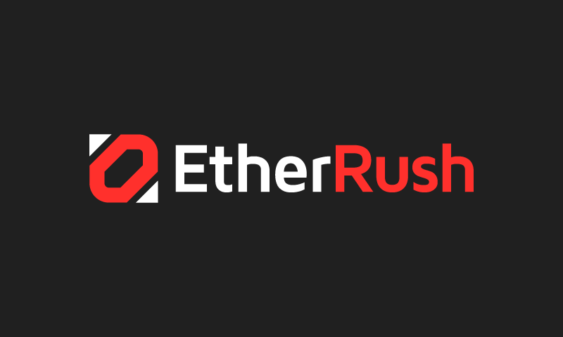 Etherrush - Cryptocurrency brand name for sale