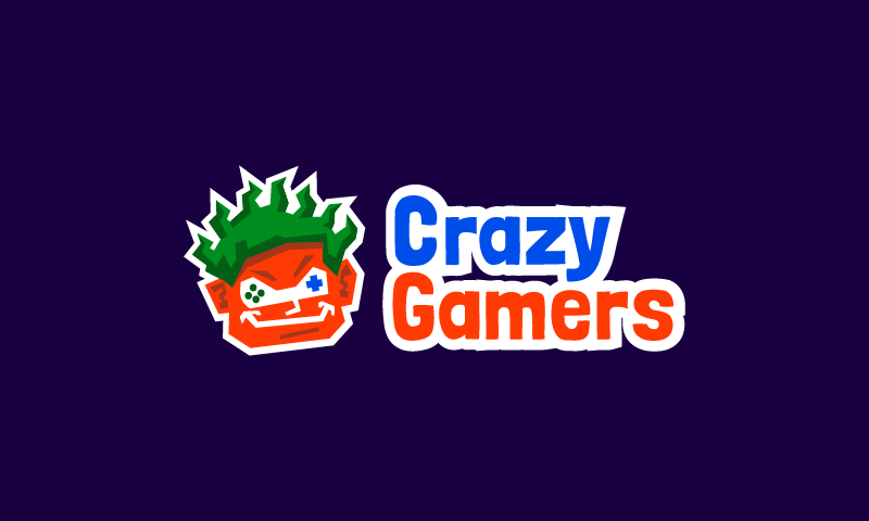 Crazygamers - Online games domain name for sale