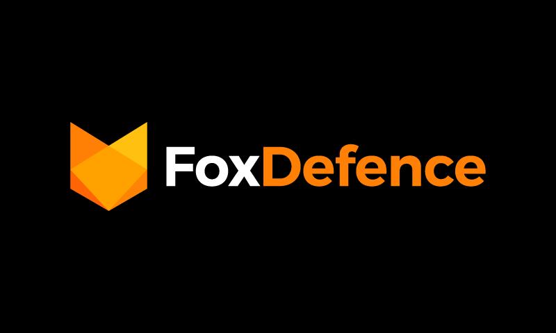 FoxDefence logo